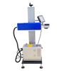 RF Metal Tube Flying CO2 Laser Marking Machine with Coherent 30W 55W