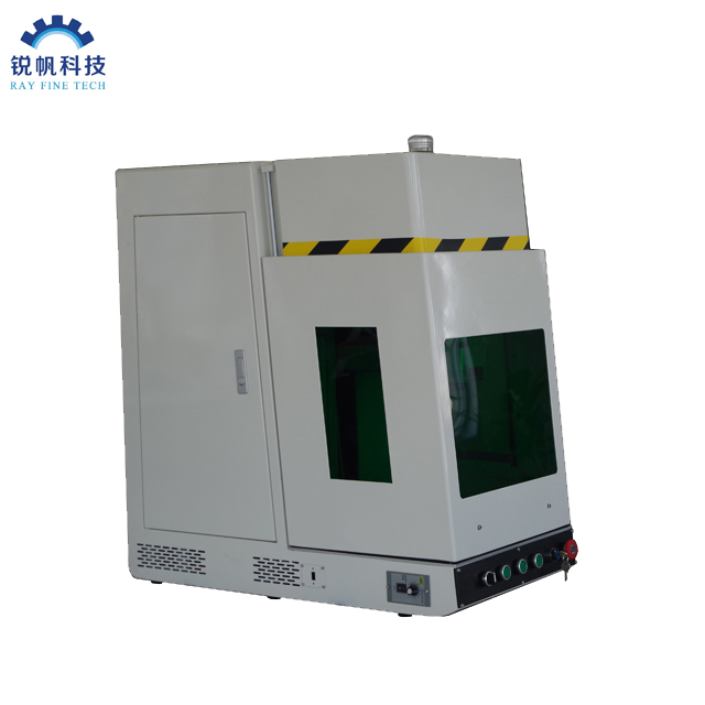 JPT LM1 60w 100w 120w Color Mopa Fiber Laser Marking Machine for Deep Engraving And Thin Metal Cutting