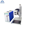 JPT M6 Mopa Portable Split Mini Fiber Laser Marking Machine 30W with Auto Focus And Cyclops Camera Position